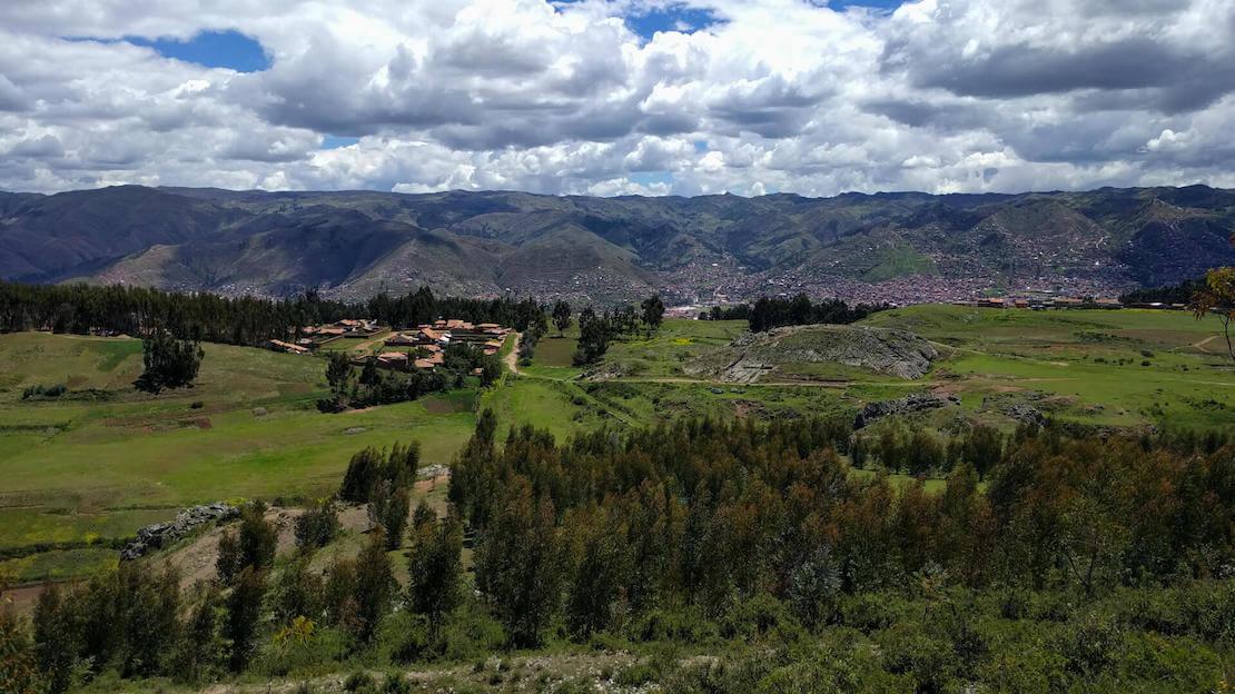 Tempio della Luna nella valle Sacra a Cusco.