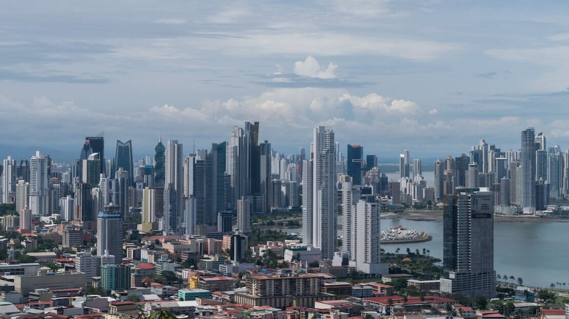 Panama city vista dall'alto, Ancon Hill