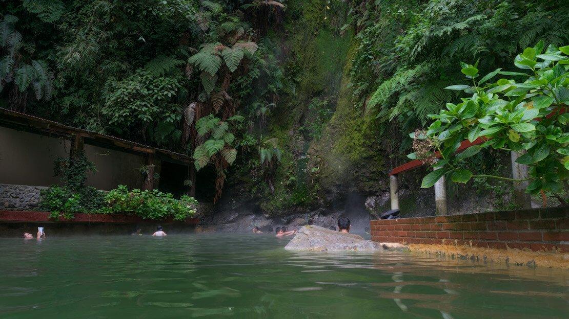 Le terme Fuentes Georginas nelle vicinanze di Quetzaltengo