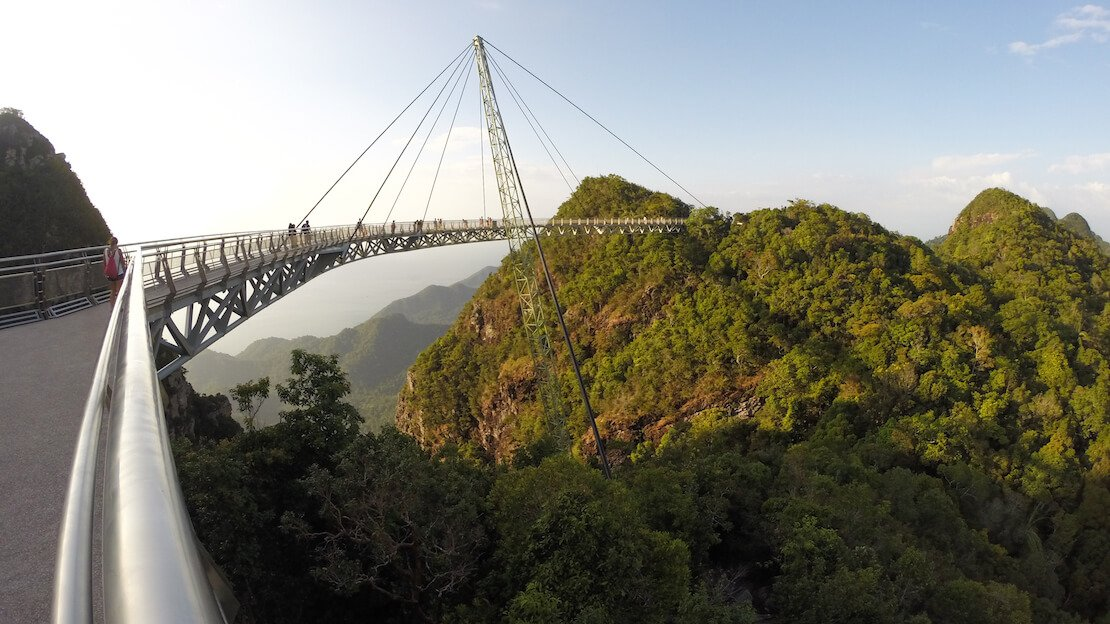 Sky bridge a Langkawi